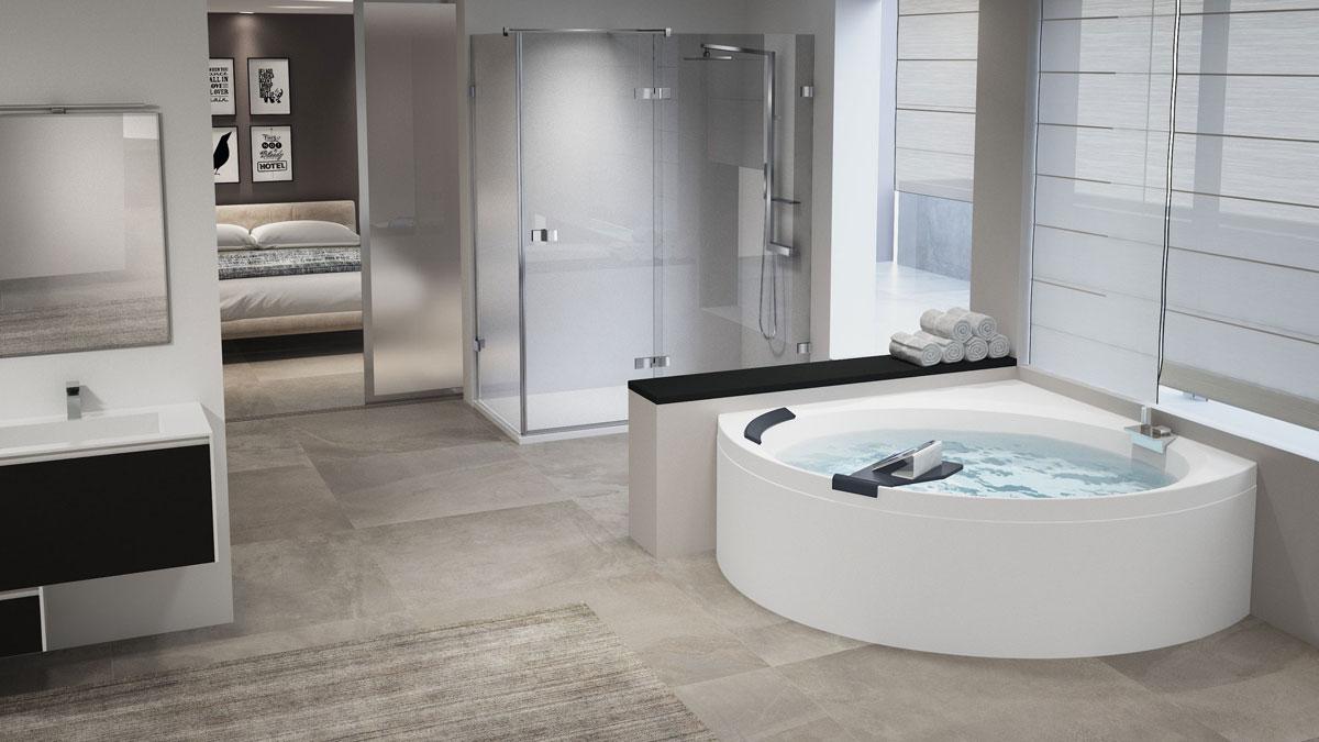 vasche da bagno jacuzzi misure ~ Comarg.com = Lussuoso Design del ...